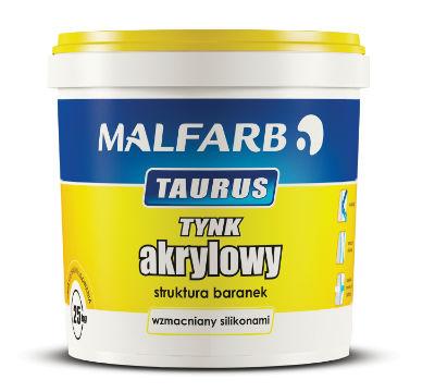Tynki Malfarb wmacniane włóknami celulozowymi